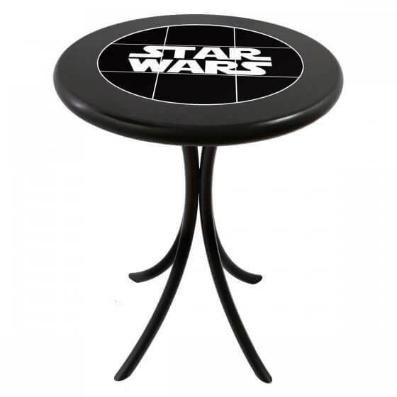 Mesa Bistrô Baixa Azulejo Star Wars Preto de 60cm - Tambo (Default)