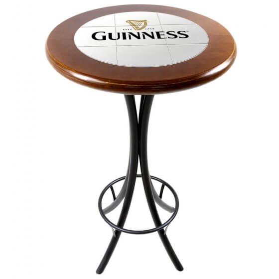 Mesa Bistrô Azulejo Guinness Imbuia de 60cm