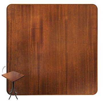Mesa para sala de jantar 4 cadeiras Laminado imbuia - Empório Tambo