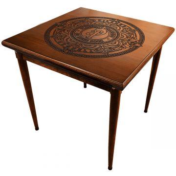 Mesa quadrada madeira maciça rustica Pilsner - Empório Tambo