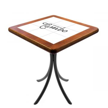 Mesa quadrada pequena para cozinha - Personalizado