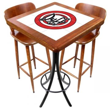 Mesa com 2 cadeiras para cozinha pequena Duff - Empório Tambo