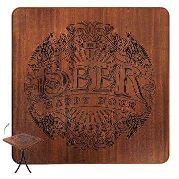 Mesa para apartamento muito pequeno Beer Happy Hour - Empório Tambo