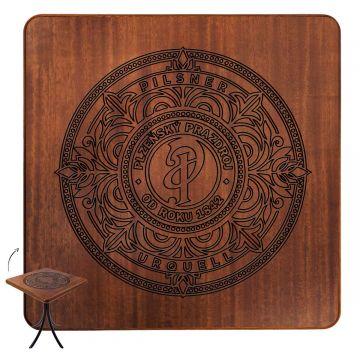 Mesa de madeira rústica para sala de jantar Pilsner - Empório Tambo