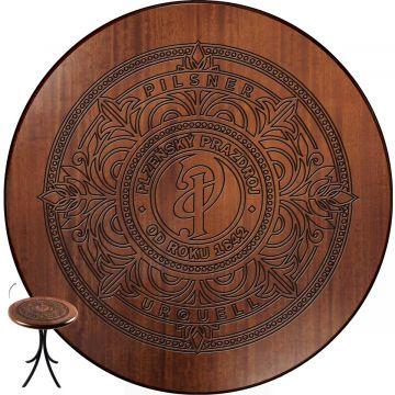 Mesa de madeira com 4 cadeiras Pilsner - Empório Tambo