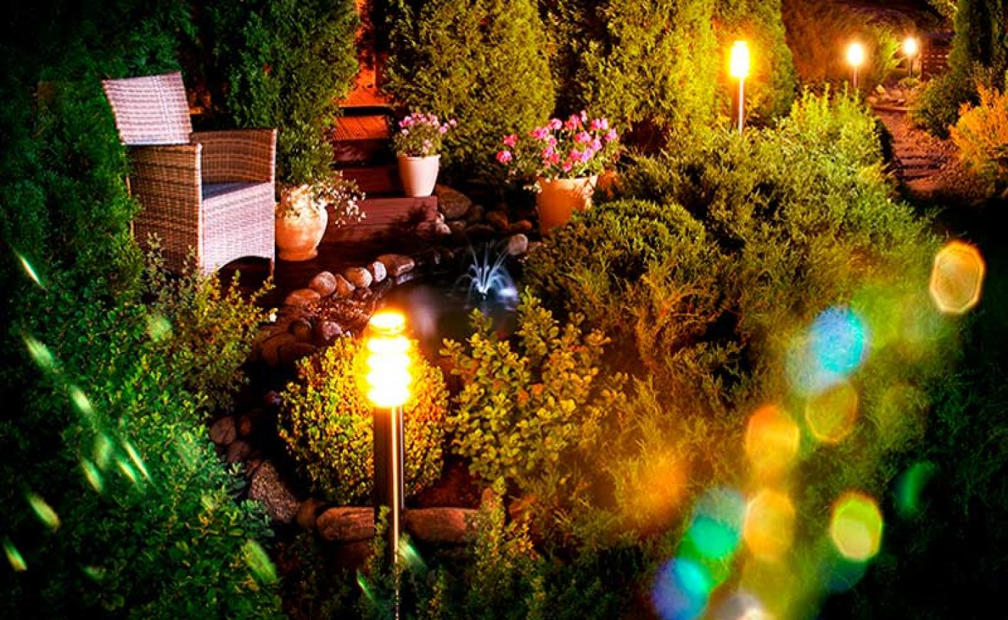 Iluminação externa: Dicas para o seu jardim!