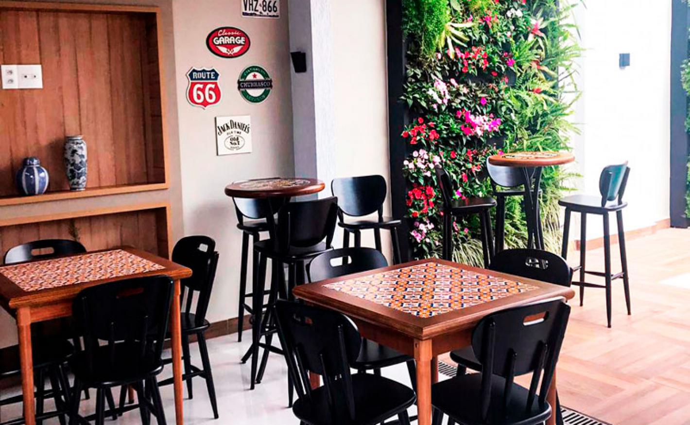 As mesas da Tambo podem ficar na área externa?