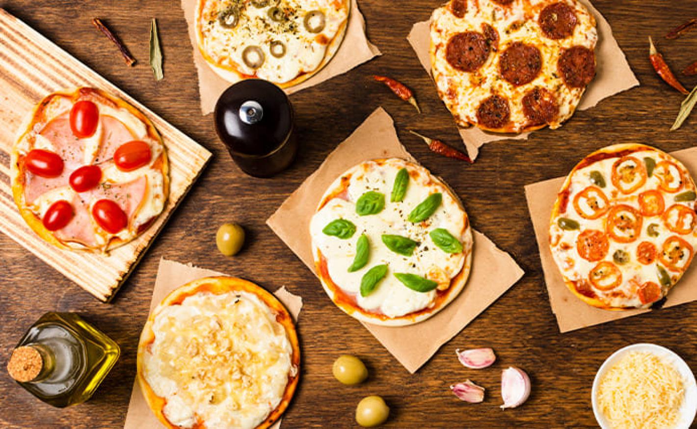 Sabores de pizza: Uma lista de dar água na boca