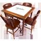 Conjunto Mesa com Azulejo bar  80x80cm