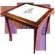 Mesa com Azulejo bar  80x80 cm