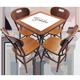 jogo-de-mesa Mesa com Azulejo bar 60x60 cm