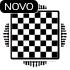 Estampa tabuleiro de xadrez
