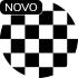 Estampa textura xadrez