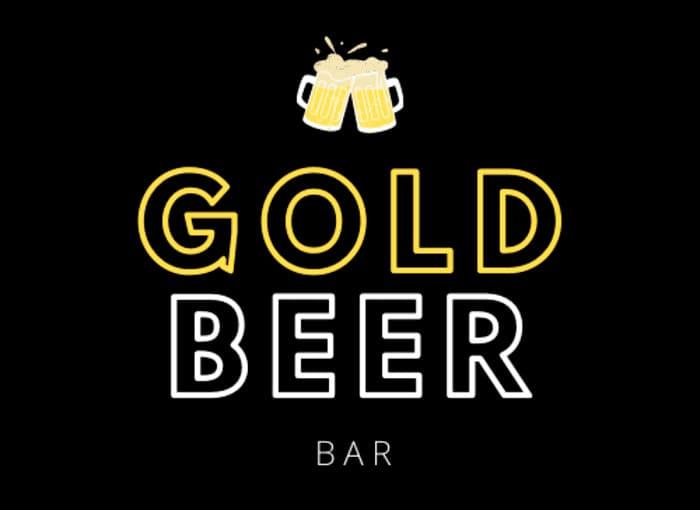 logo gold beer