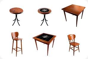 Mesas e cadeiras para estabelecimentos!