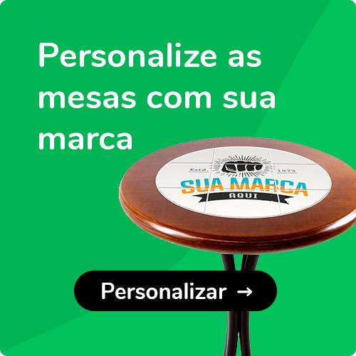 Personalize mesas