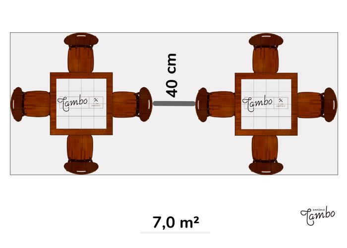 2-Mesas-vista-de-cima-com-tampo-quadrado-com-cadeiras-e-anotação-de-metros-quadrados